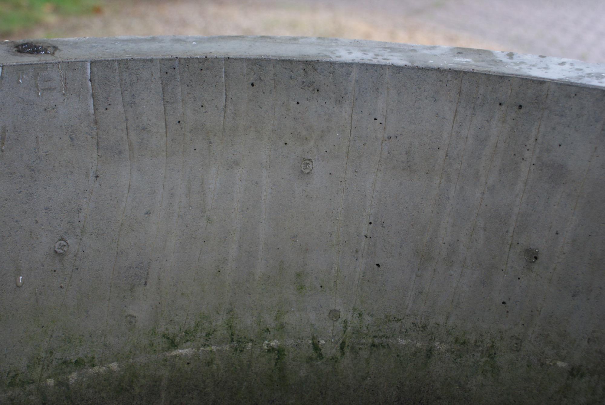 Fontaine béton
