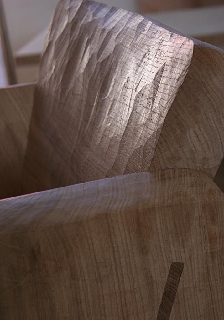 Fauteuils en chêne massif